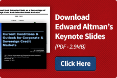 Download Edward Altman's Presentation Slides