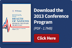 Download the 2013 Conference Program